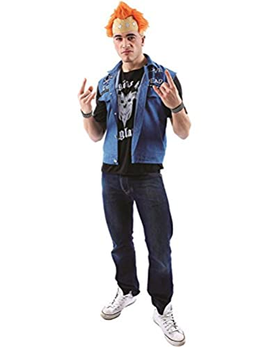 Vyvyan Basterd Young Ones Punk Fancy Dress Costume. Become the 80s TV character played by Ade Edmondson.