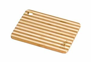 Island Bamboo HC8MG Cuisin-Aire Honey Stripe Cutting Board, Mini, 8-Inch by 6-Inch