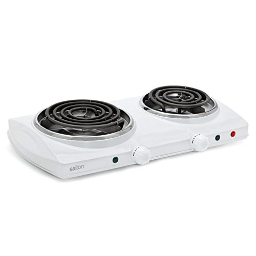 Portable Cooktop Double Burner Salton
