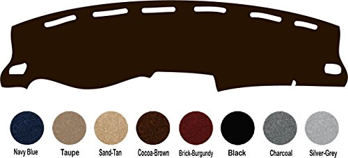 1981-1987 Chevy Pickup Truck Chevloret P/u Truck Dash Cover Mat Pad All Models - Fits 1981-1987(custom Carpet, Cocoa)