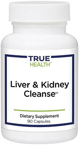 True Health Liver & Kidney Cleanse | Detox with 10 Herbal Extracts and Antioxidants (90 capsules)
