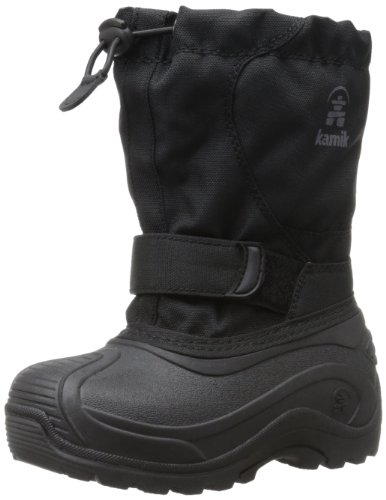 Kamik Footwear Upsurge Insulated Boot (Toddler/Little Kid/Big Kid),Black,13 M US Little Kid