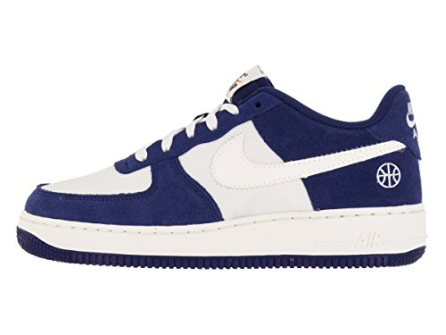 Nike Air Force 1 (GS), Zapatillas de Baloncesto Para Niños Azul (Deep Royal Blue / Sail-Phantom)