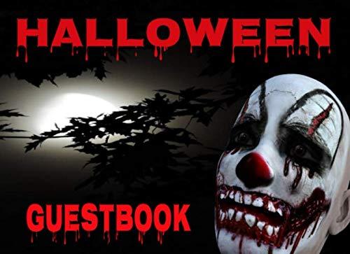 Halloween Guest: Bloody Clown Head 8.25 x 6