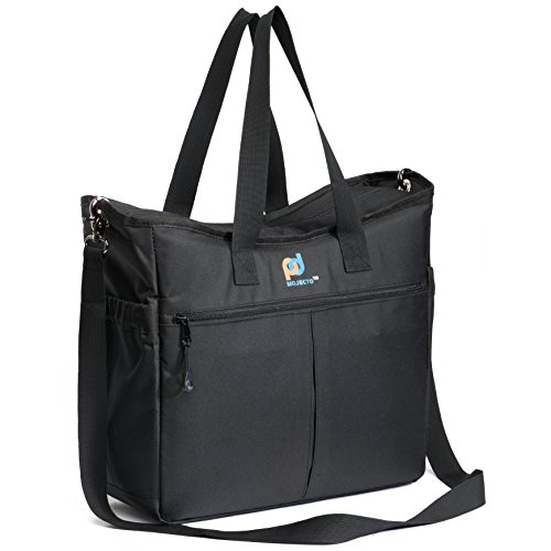 Extra Large Lunch Cooler Bag for Women and Men. Premium Fabric, Thick Foam Insulation, Strong Peva Liner, Many Pockets, Durable Zipper, Strong Stitching, Long Shoulder Straps, Metal Clips.