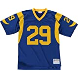 Eric Dickerson Los Angeles Rams Autographed 1985 Throwback Mitchell ... d5652cb35
