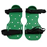 SCHOME Lawn Aerator Shoes Spiked Sandals Aerating Lawn Sandals with 2 Adjustable Straps and Heavy Duty Metal Buckles Universal Size for Aerating Lawn or Yard