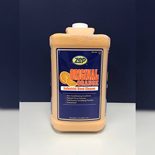 Zep 099124 Original Orange Hand Cleaner (1) Gallon w/Hand Pump
