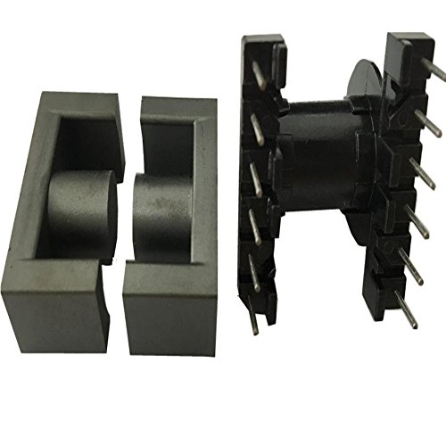 100sets ER2828 EC2828 ER28/28 EC28/28 transformer ferrite core with 6+6pin vertical bobbin MnZn PC40