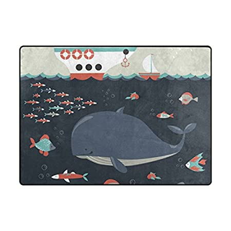 41YZUE1mb6L._SS450_ Whale Rugs and Whale Area Rugs