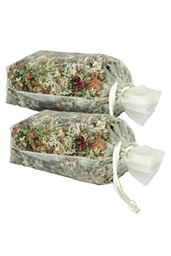 (Rose Garden Sachet by MoonDance Soaps - Handmade Potpourri with Herbs and Botanicals)