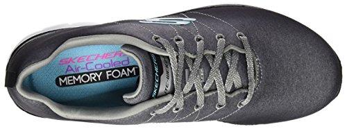 de Zapatillas Negro 0 Skechers 2 Appeal Bkgy Exterior Deporte para Flex Mujer 7wFFqRxag