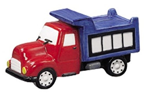 Andrea Sadek Red and Blue Dump Truck Savings Piggy Bank