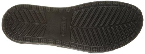 Crocs Femmes Anna Cheville Bracelet Gladiateur Sandale Noir
