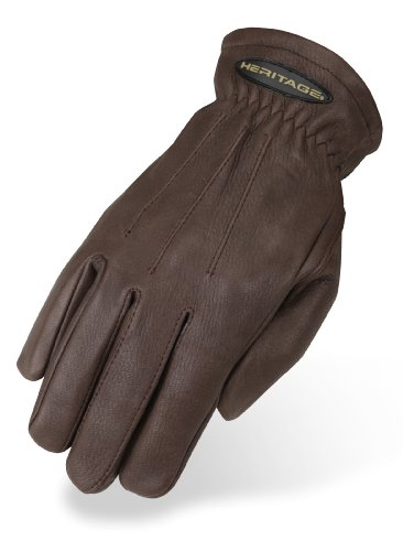 Heritage Winter Trail Gloves, Size 10, Chocolate