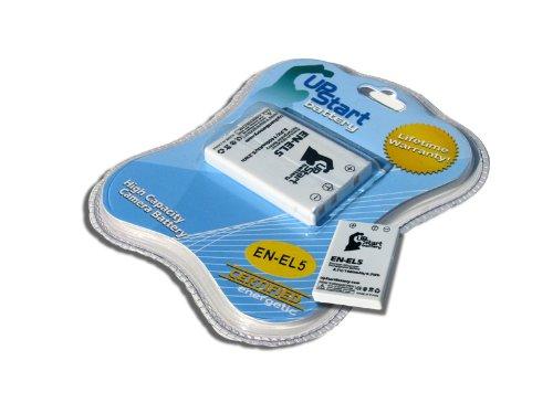 2x Pack - Nikon Coolpix P500 Battery - Replacement for Nikon EN-EL5 Digital Camera Battery (1400mAh, 3.7V, Lithium-Ion)