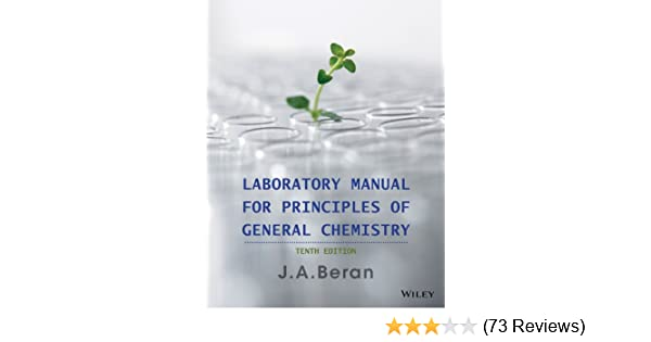 Laboratory manual for principles of general chemistry 10th edition laboratory manual for principles of general chemistry 10th edition 10 jo allan beran amazon fandeluxe Gallery
