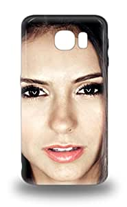 Shock Dirt Proof Nina Dobrev Canadian Female The Vampire Diaries 3D PC Case Cover For Galaxy S6 ( Custom Picture iPhone 6, iPhone 6 PLUS, iPhone 5, iPhone 5S, iPhone 5C, iPhone 4, iPhone 4S,Galaxy S6,Galaxy S5,Galaxy S4,Galaxy S3,Note 3,iPad Mini-Mini 2,iPad Air )