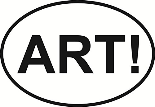 Oval Envy ART Bumper Sticker