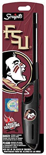 Scripto NCAA Florida State Seminoles Utility Lighter, One Size, Black