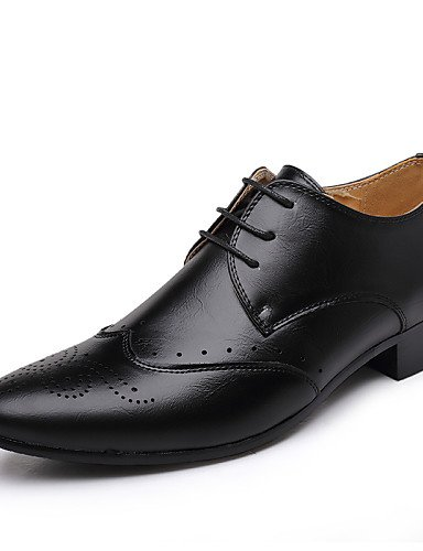 Ei&iLI Zapatos de Hombre Oxfords Exterior / Casual Semicuero Negro / Amarillo , black-us8 / eu40 / uk7 / cn41 , black-us8 / eu40 / uk7 / cn41 black-us8 / eu40 / uk7 / cn41