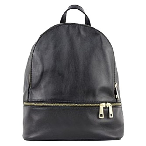 Bottega Carele - Bolso mochila  de Piel para mujer negro
