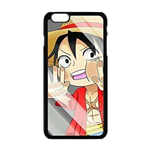 Best Diy 2015 New Japanese Comics ONE PIECE Iphone 6 plus cell phone case s9c5p9fTGuK cover-Cute Luffy Design
