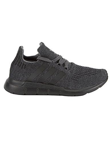 8fccdbcb7546e7 adidas Originals Kids Boy s Swift Run (Big Kid) Grey Black Black 3.5 ...