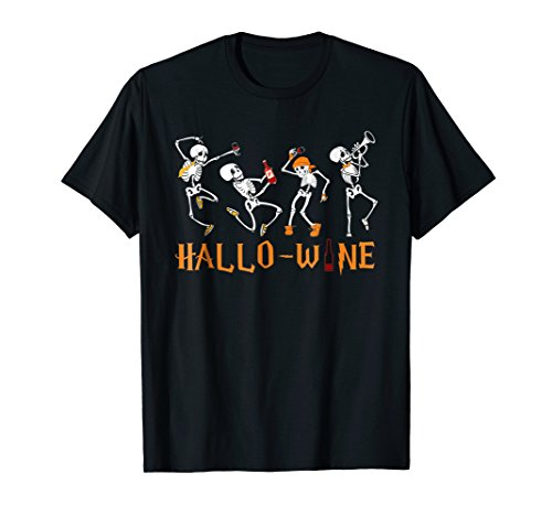 Hallowine Hallo Wine T-Shirt Beer Champaign Alcohol Lover