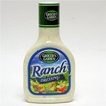 Amazon com: Grocer's Garden Ranch Salad Dressing 12/16 oz