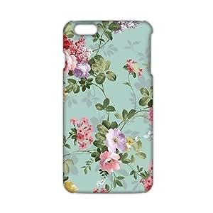 Wish-Store Flowers pattern 3D Phone Case for iPhone 6 plus Kimberly Kurzendoerfer