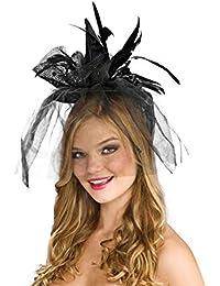 Black Mini Witch Hat Adult