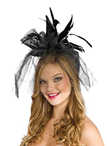 (Black Mini Witch Hat Adult)