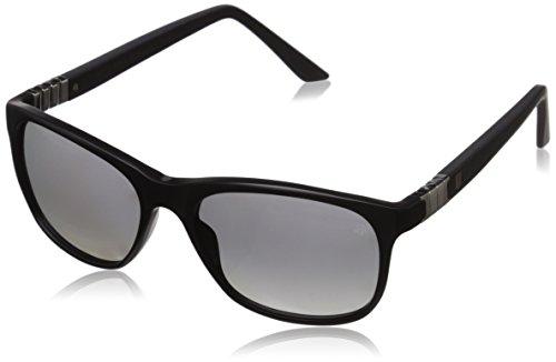 TAG Heuer Legend 9382 101 Square Sunglasses, Matte Black/Gradient Grey, 54 - Sunglasses Case Heuer Tag