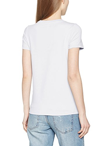 T Only Trendy neck Top Love O white Noos Ss Donna Onllive Bianco shirt 4xqOxZ