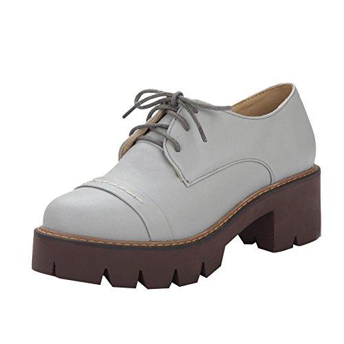 4e10a5a7425 Latasa Women s Fashion Platform Lace up Chunky Heels Oxford Shoes hot sale  2017
