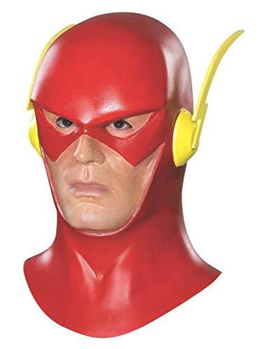 The Flash Mask W/ Cowl (One Size)