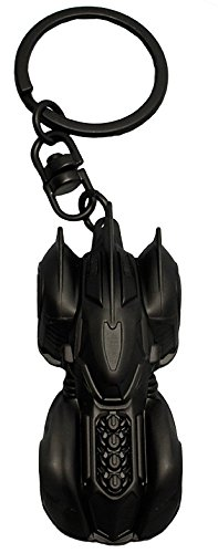 AbyStyle Abysse Corp_ABYKEY167 Dc Comics-Keychain 3D Premium Batmobile X2, Multi Colour -