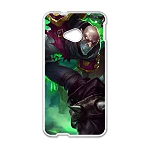 Dota2 Singed HTC One M7 Cell Phone Case White DIY Gift pxf005-3643039