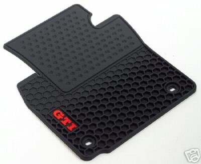 Gti Floor (VW Volkswagen GTI All Weather Rubber Monster Mats)