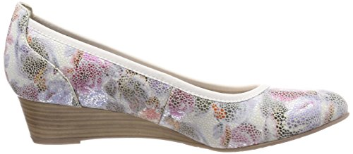 Tamaris Multicolore Escarpins Comb Femme 22304 Flower qqv4pw