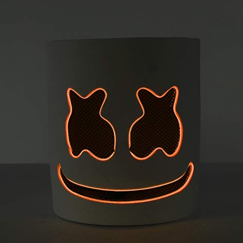 Overstep Creative Party Mask LED DJ Music Mask
