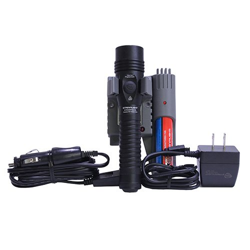 Strion Rechargeable Flashlight - Streamlight 74619 Strion DS HL IEC Type A (120v) AC/12v DC Piggy Back Flash Light