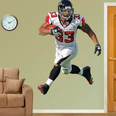 FH1220280 NFL Michael Turner Vinyl Wall Graphic Decal - Turner Sticker