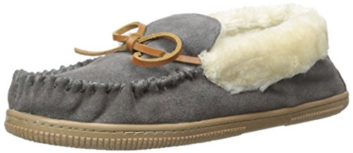 White Mountain Womens Sleepover Slip-On Loafer Charcoal Suede Jn4Y6oTPh