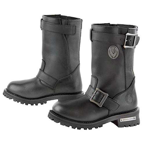 Vulcan V-120 Women's Inferno Motorcycle Engineer Boots - 6