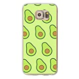 Tfvouvo Avocado Case for Galaxy S6 - Replacement Cover for Samsung S6
