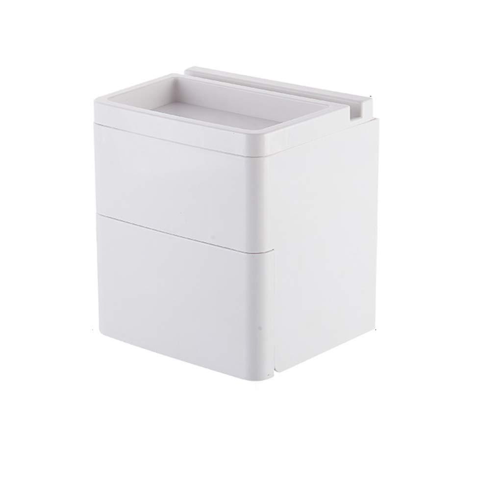 Bathroom, Multi-Function, Sanitary roll Tray Cover, Storage lid, Seamless Wall Hanging, Bathroom Waterproof Tissue lid.