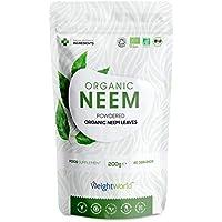 Biologisch Neem Blad Poeder - Bio Neemblad poeder - Natuurlijke Ondersteuning voor de Immuniteit - Haar en Hoofdhuid…