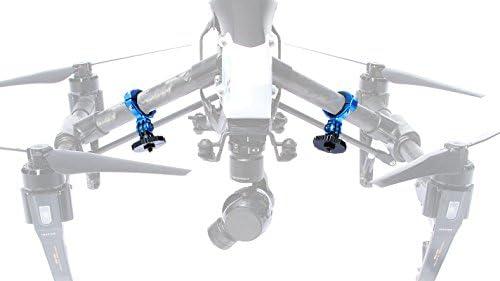 Lume Cube LC-INSP11 Support pour DJI Inspire Drone Noir/Bleu